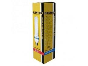 Úsporná lampa ELEKTROX 85W, kombinované spektrum, s integrovaným předřadníkem Cover