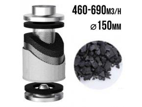 PRO-ECO VF uhlíkový filtr 460-690m3/h - 150mm Cover