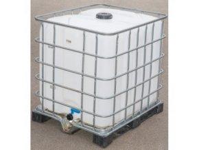 Velkokapacitní plastový IBC kontejner na vodu, Nádrž 1000L