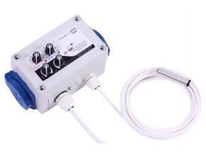 GSE Digitální regulátor teploty,vlhkosti,podtlaku a min. rychlosti ventilátorů 2x1A Cover