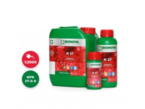 N 27 Set 5L 1L 250ml Bionova mineral