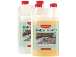 Canna Hydro Flores A+B Cover