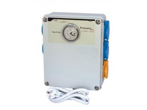 GSE Timer Box II 4x600W + topení 2000W, 230V Cover