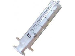 Injekční stříkačka plastová 20ml Cover