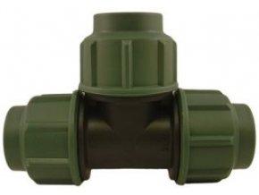 Spojka PE hadice typ T, 25mm-16atm.