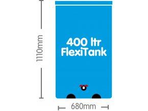 AutoPot 1Pot systém 60 květníků vč. 400L Flexitank Cover