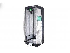 BudBox PRO Medium 75x75x200 cm - stříbrný