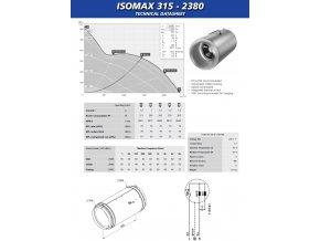 RUCK / CAN ISO-MAX, 2380 m3/h, ∅ 315 mm, odhlučněný