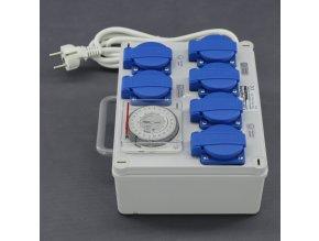 Malapa rozvodnice 4+2 (230V) ovládaná spínacími hodinami KL01 Cover