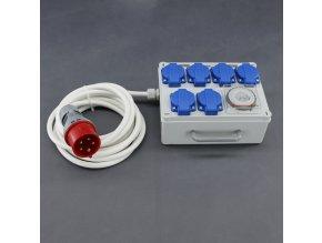 Malapa rozvodnice 4+2 (400V) ovládaná spínacími hodinami KL02