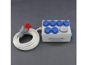 Malapa rozvodnice 6+2 (400V) ovládaná spínacími hodinami KL03