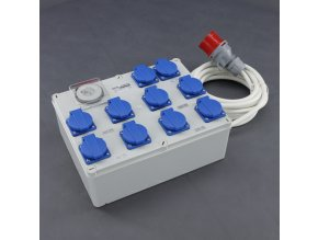 Malapa rozvodnice 8+2 (400V) ovládaná spínacími hodinami KL04