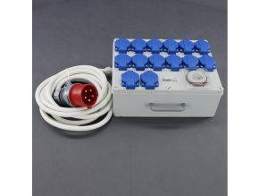 Malapa rozvodnice 12+2 (400V) ovládaná spínacími hodinami KL05