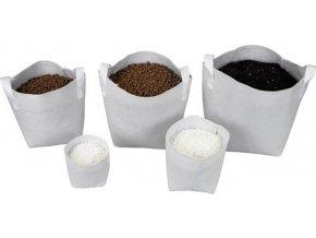 Tex Pot textilní květináč bílý 3l Cover