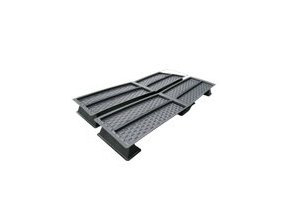 1,8m Multi-duct 183cm x 94cm x 6,5cm x 4 Cover