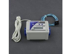 Malapa DVOJITÝ- digitální termostat pro topení + digitální termostat kombinovaný s hygrostatem a regulací výkonu (min a max) pro odtah/ přítah MTH3