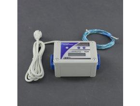 Malapa DVOJITÝ- digitální termostat pro topení + termostat s regulací výkonu (min a max) pro odtah/ přítah MTJ3