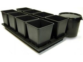 Octogrow, pasivní hydroponický systém pro 8 rostlin Cover