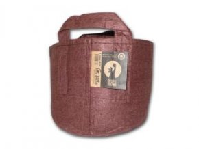 Root pouch Boxer brown, nedegradující, 12l s uchem, 25x21cm Cover