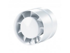 Ventilátor VKO 125, 185m3/h, 57Pa, D=120, D1=129 mm Cover
