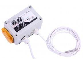 Regulátor teploty,min&max rychlosti,hystereze 5A Cover