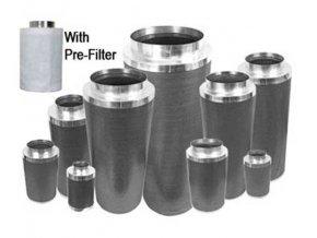 Phresh Filter 300 PRO 30cm - 300m3/hod Průměr: 100mm Cover