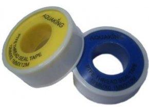 Těsnící páska PTFE gastape 12mm*12m,tl 0,1mm