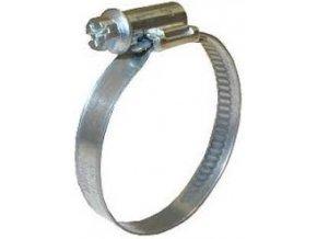Kovová stahovací páska na flex hadice 20-30mm