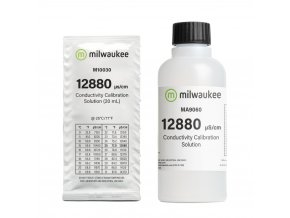 Kalibrační roztok Milwaukee  12,880 mc/cm EC - 20ml Cover