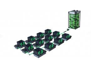 Alien Hydroponics 12 Pot 10LTR EasyFeed™ System