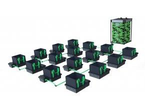 Alien Hydroponics 16 Pot XL 22LTR EasyFeed™ System