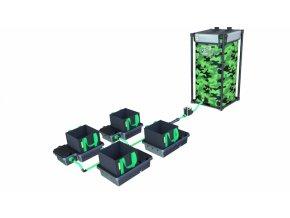 Alien Hydroponics 4 Pot 10LTR EasyFeed™ System