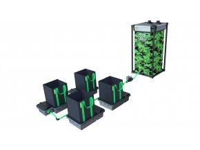 Alien Hydroponics 4 Pot 16LTR EasyFeed™ System