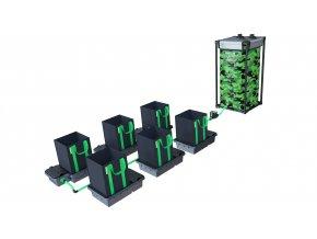 Alien Hydroponics 6 Pot 16LTR EasyFeed™ System