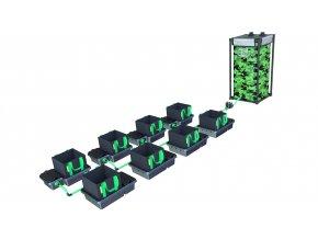 Alien Hydroponics 8 Pot 10LTR EasyFeed™ System