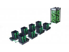 Alien Hydroponics 8 Pot 16LTR EasyFeed™ System