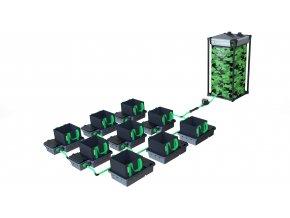 Alien Hydroponics 9 Pot 10LTR EasyFeed™ System