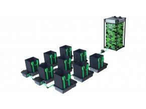 Alien Hydroponics 9 Pot 16LTR EasyFeed™ System