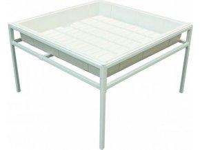 Fast Fit ocelový stůl 120x120cm