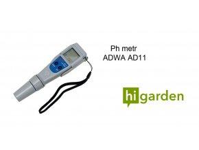 ADWA pH vodotěsný metr s výměnnou sondou