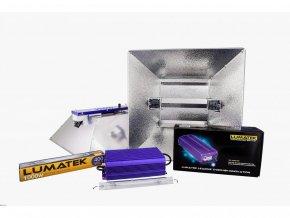 Digitální předřadník Lumatek ULTIMATE PRO 1000W - 400V set + Hammertone reflektor Cover