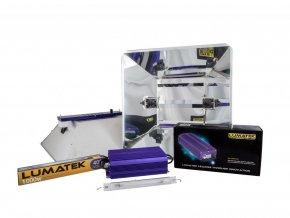 Digitální předřadník Lumatek ULTIMATE PRO 1000W - 400V set + MIRO reflektor Cover