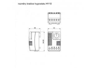 MALAPA MINI elektronický hygrostat HY10