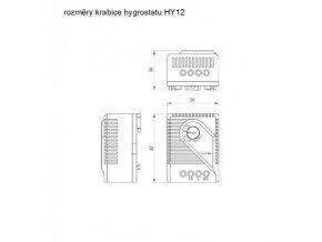 MALAPA MINI hygrostat (zvlhčování a odvlhčování) HY12