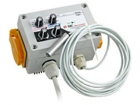 GSE Digitální regulátor teplot - vlhkosti - podtlaku a min. rychlosti otáček 16A Cover