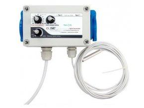 GSE Digitální regulátor teploty - podtlaku a min. rychlosti otáček 10A Cover