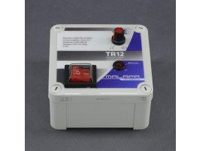Malapa regulátor napětí 900W plynulý (pod omítku nebo na povrch) TR12