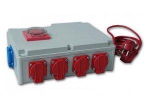 Davin DV-rozvodna 8x600W s časovačem + zasuvka na topení Cover
