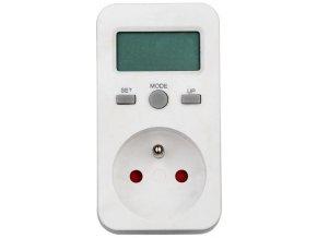 Hutermann PM5 Digitální elektroměr do zásuvky Cover
