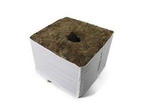 Agra-Wool kostka 10*10 cm s malou dírou 2,8 cm, krabice 120 ks Cover